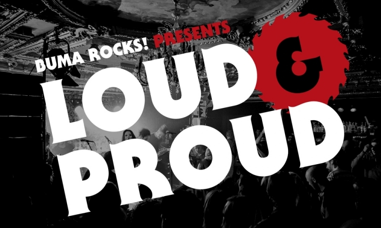 Buma rocks presents loud proud with three great bands at lola again